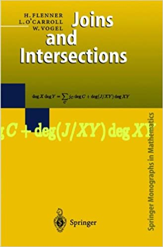 Joins And Intersections MOBI FB2 por Liam O'Carroll