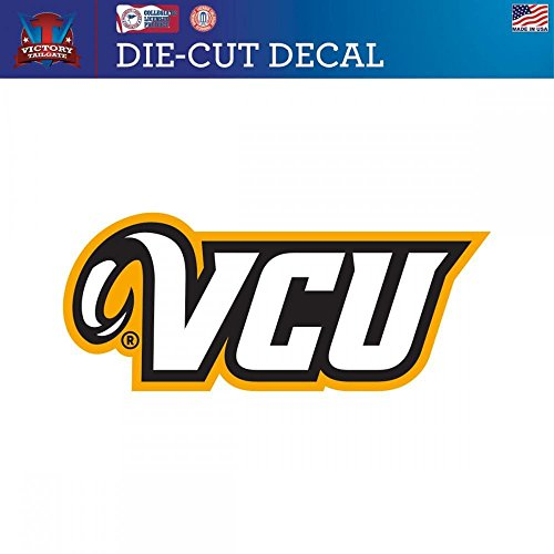 Vcu Rams Top - Virginia Commonwealth University Rams VCU Die-Cut Vinyl Decal (Approx 6x6)