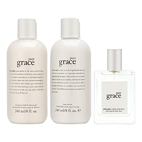 Philosophy Pure Grace 3 Piece Fragrance Set for Women