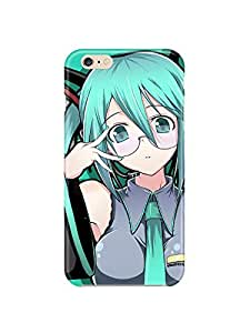 """ip60465 Hatsune Miku Vocaloid cute cartoon Glossy Case Cover For Iphone 6 (4.7"""") by Maris's Diary"""