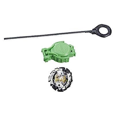 BEYBLADE Burst Turbo Slingshock Starter Pack Forneus F4 Top & Launcher, Multicolor: Toys & Games