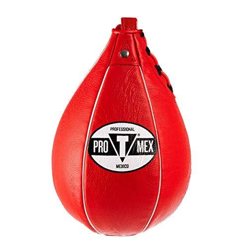 Pro-Mex Professional Speed Bag V2.0, Red, 6