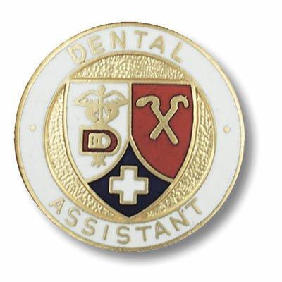 EMI Dental Assistant Emblem Pin - Round - Emblems Pins