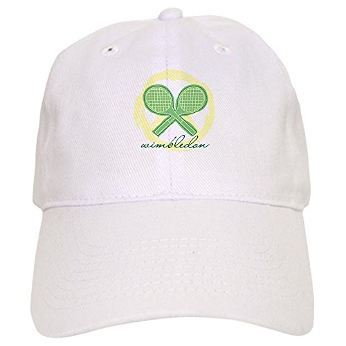 CafePress - Wimbledon Cap - Baseball Cap Adjustable Closure, Unique Printed Baseball Hat