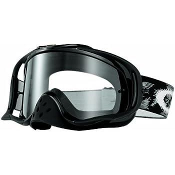 4d11d18db6 Amazon.com  Oakley Crowbar MX Goggles (Jet Black