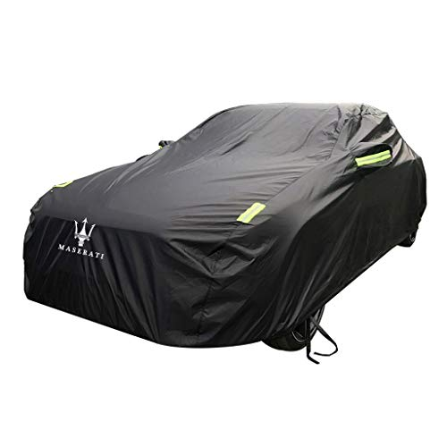 JIANPING-Car cover Cover Hood Oxford Cloth Sun Protection Rain Cover Hood for Maserati GranCabrio Models (Size : Oxford Cloth – Built-in lint)