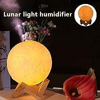 Leorealko Air Humidifier Air Humidifiers Air Humidifier Aroma Diffuser Cool Air Humidifier Air Humidifier Diffuser Home Night Light Mini Moon Lamp Adjustable Brightness