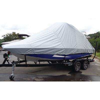 (Carver Covers 82122P Tournament Ski Boats W/wide Or Pickle Fork Bow & Swim Platform - Over-The-Tower Cover)