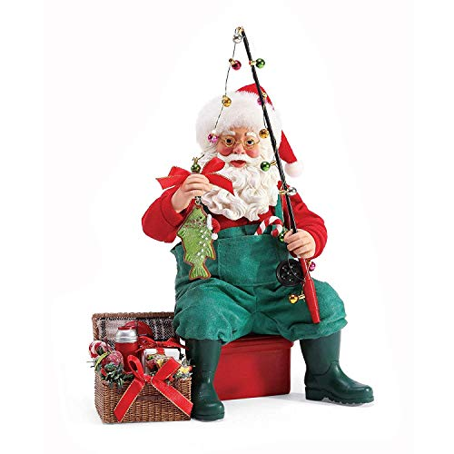 Department 56 Possible Dreams Santas Sports and Leisure Sweet Catch Figurine, 9