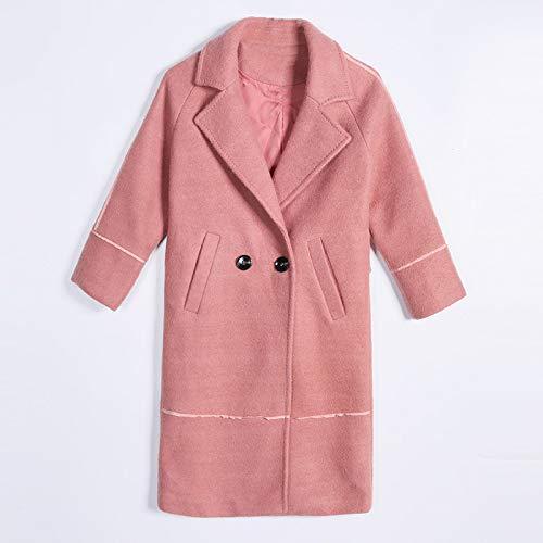 Mode vent Dames Longue Rouge Dames Et Chaud Coton Laine Hiver Coupe Automne D'hiver Manteau De Élégante Ab Femme URvavq