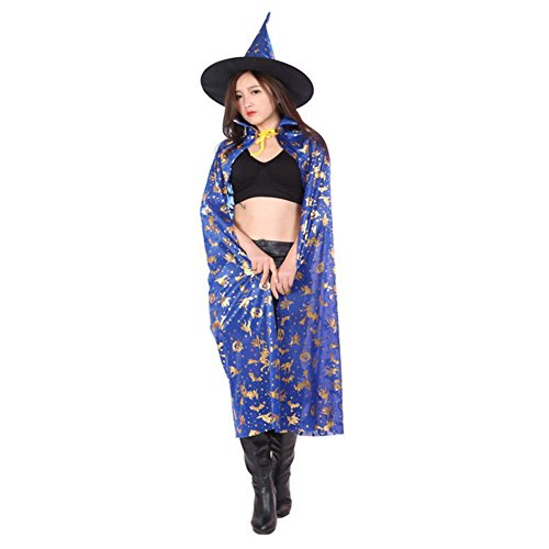 Cape Halloween Dress up Wizards Witches Vampire Cloak 47.2