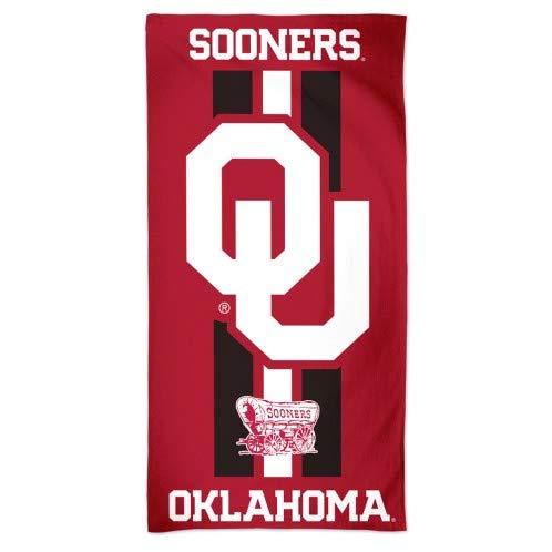 (WinCraft NCAA University of Oklahoma A1860615 Fiber Beach Towel, 9 lb/30