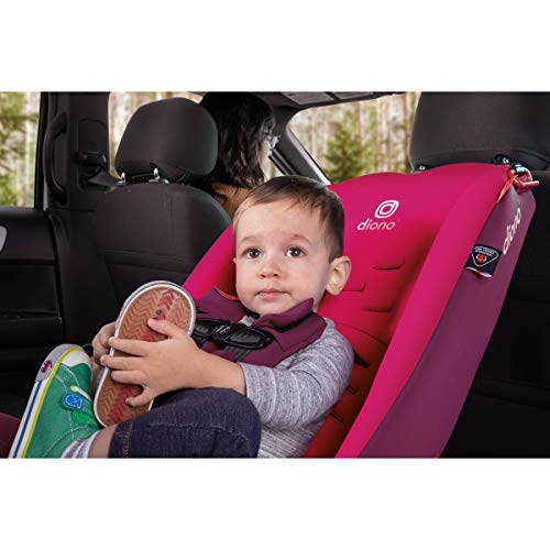 41yKv%2BrSAuL - Diono Radian 3RX 3-in-1 Rear And Forward Facing Convertible Car Seat, Head Support Infant Insert, 10 Years 1 Car Seat Ultimate Safety And Protection, Slim Design - Fits 3 Across, Pink Blossom