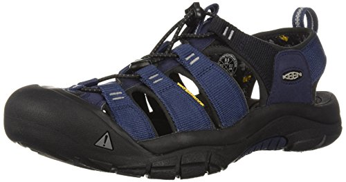 - KEEN Men's Newport Hydro-M Sandal, Dress Blues/Steel Grey, 10 M US