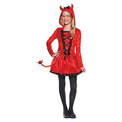 Lil Devil Halloween Costume (Girls Costume - Li'l Devil (SMALL))