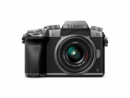 41yKvYaW6zL - Panasonic DMC-G7KS Digital Single Lens Mirrorless Camera 14-42 mm Lens Kit, 4K + Starter Bundle + Transcend 64 GB High Speed 10 UHS3 + Tripod + Polaroid 46mm UV Filter + Battery + Bag