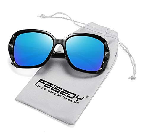FEISEDY Classic Polarized Women Sunglasses Sparkling Composite Frame - Sunglasses Shop Bass Pro