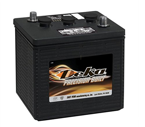 Deka 901MF Heavy-Duty Commercial 6Volt Battery  Made in USA