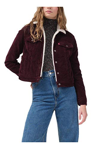 Levi's Women's Original Sherpa Trucker Jackets (Standard and Plus)