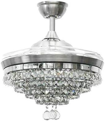 Fandian 42″ Crystal Ceiling Fan