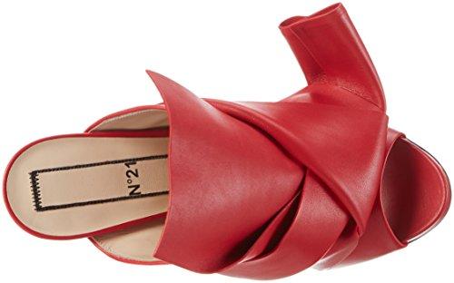 Rosso N Santa Santa 21 Tacco 6 Donna Claus Scarpe col Claus 8003 OvHqrwnxO