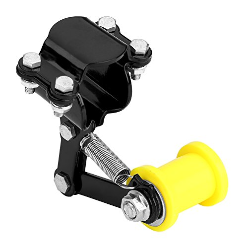 Chain Tensioner 100% Brand New Motorcycle Chain Tensioner Chain Adjuster Tensioner Motorcycle Chain Tension Universal Fit Most Motorcycle(Black)