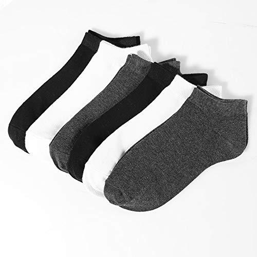 Amazon.com: DeemoShop Casual Breathable Short Socks for Mens Meias 6 Pairs/lot Male Cotton Ankle Sock Calcetin Slippers Low Cut Sock Chausettes Homme: ...
