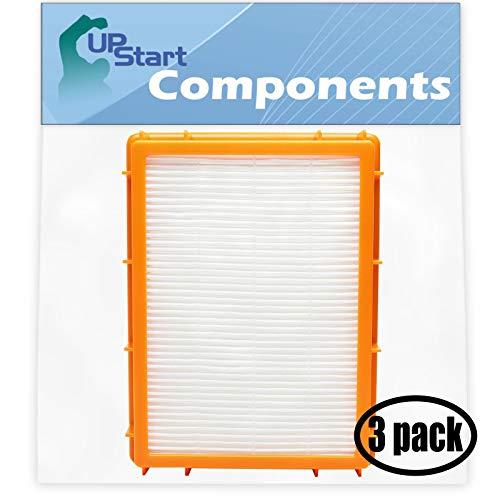 - 3-Pack Replacement for Eureka Boss SmartVac Clean Living 4870K Vacuum HEPA Filter - Compatible with Eureka HF-2 HEPA Filter