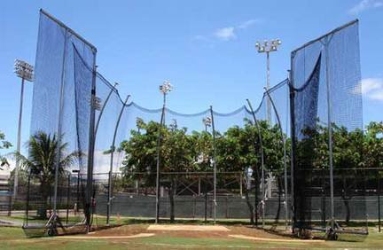 Replacement Cage Net for NCAA Double Ring Tall Hammer / Discus Cage by Gill Athletics