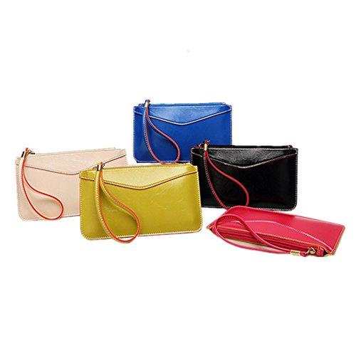 Schoolsupplies 1pcs Women mini Leather Clutch Handbag Bag Coin Purse Phone package