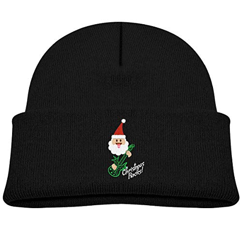 Fzjy Wnx Santa Claus Guitar Player Baby Cap Knit Hats