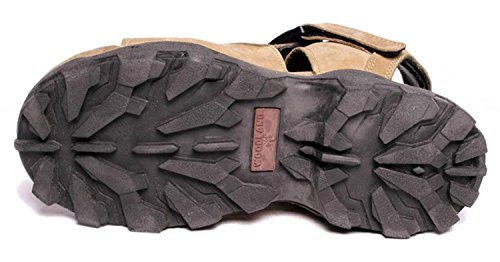 Woodland Leather Mens Sandals and Floaters(Size :-7 UK)