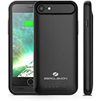 iPhone 7 Battery Case, ZeroLemon 3100mAh Slim Juicer Portable Charger iPhone 7 Charging Case - Black