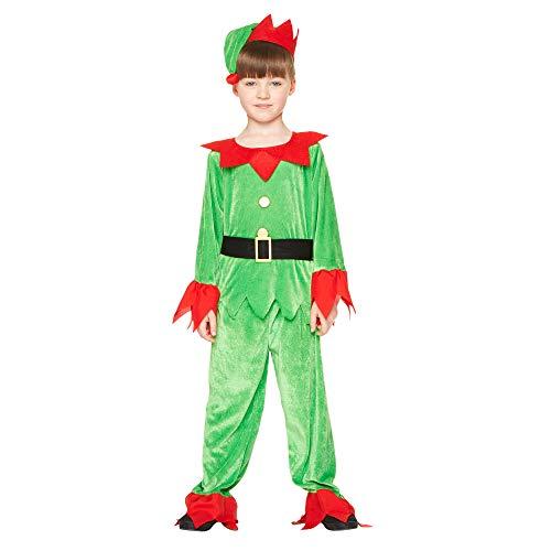 Christmas Elf Boy Costume - Kids Holiday North