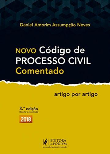 Novo Código de Processo Civil Comentado: Artigo por Artigo