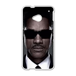 HTC One M7 Phone Cases White Men in Black DEM741224