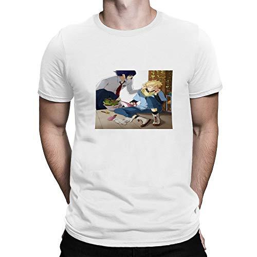 Yiasjfaf T Shirt Animation Naruto Uzumaki Naruto Uchiha Sasuke Haruno Sakura Hatake Kakashi vbs,Classic Animation,Adult Unisex Crew S