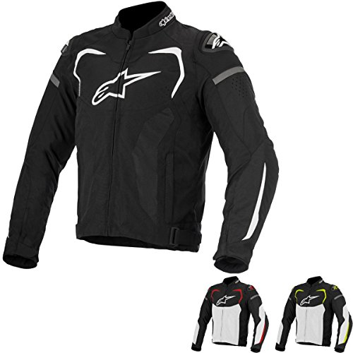 Alpinestars TGP Pro Men's Street Jackets - Black/White/Yellow / X-Large