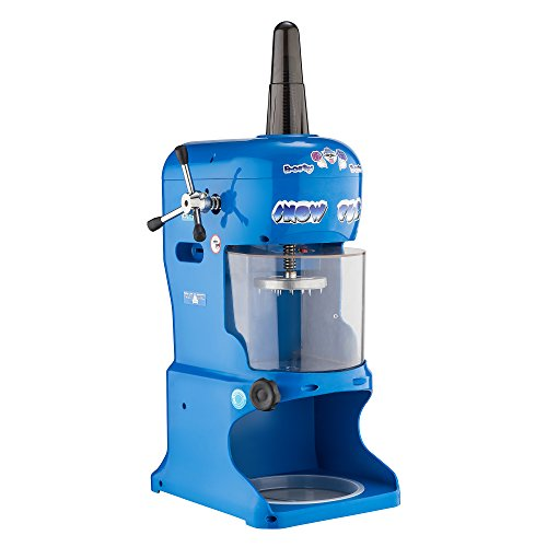 Great Northern Snow Cub Hawaiian Ice Shaver | Electric Shaved Ice Machine & Snow Cone Maker | Shaves 6 lbs. of Ice Per Minute
