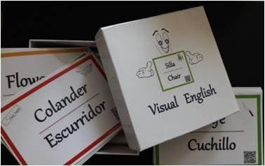 Visual English - Tarjetas para aprender vocabulario en ingles del ...