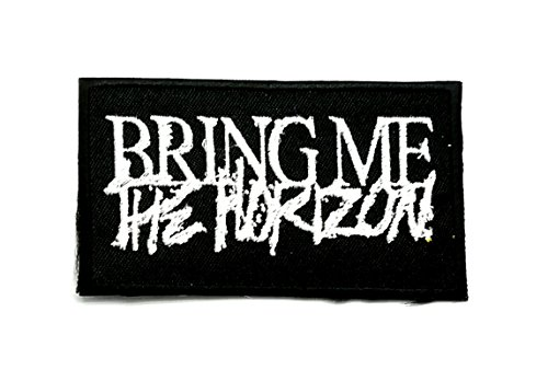 Wasuphand Bring Me The Horizon BMTH Rock Band Patch Sew On Iron Embroidered Heavy Metal Music DIY Bag Vest Gift Jeans Denim Badge Costume