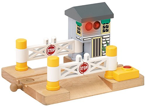Thomas And Friends Wooden Railway - Deluxe Railroad - Railroad Crossing Bell