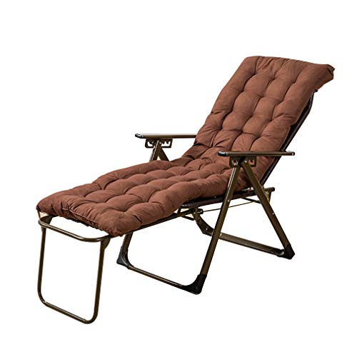 - SACKDERTY Rattan Zero Gravity Chair Foldable Sun Lounger with Cup and Phone Holder Cotton Pad Recliner Chairs Relaxer Steamer Chair