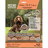 OC Raw Freeze Dried Chicken, Fish & Produce Sliders 14oz For Sale