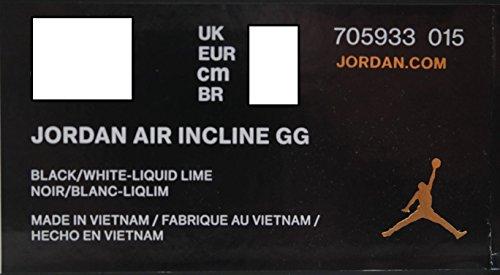 705933-015  AIR Jordan AIR Incline GG Grade School Sneakers AIR  JORDANBLACK White Liquid LIMEM  Amazon.co.uk  Shoes   Bags 7fc155543