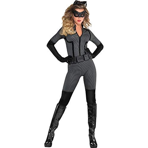 SUIT YOURSELF Batman: The Dark Knight Rises Catwoman Costume for Adults, Size Extra-Large, Includes an Eye Mask and More]()