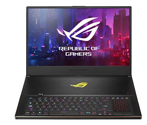 ASUS ROG Zephyrus S GX701GXR-HG113T 17.3″ FHD 300Hz Gaming Laptop RTX 2080 Max-Q 8GB Graphics (Core i7-9750H ninth Gen/32GB RAM/1TB NVMe SSD/Windows 10/2.60 kg), Black
