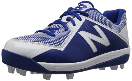 New Balance Boys' 4040v4, Royal/White, 5 M US Big Kid