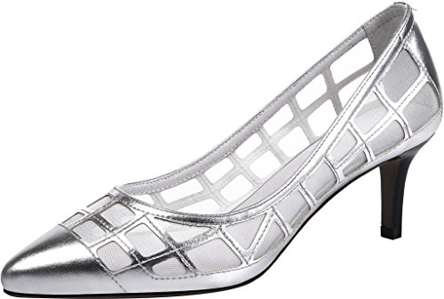 Spitzschuh Calaier Slip Stiletto Jtabi Silver 6CM Damen Pumps on wrqpEwnH