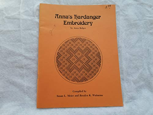 Anna's Hardanger Embroidery